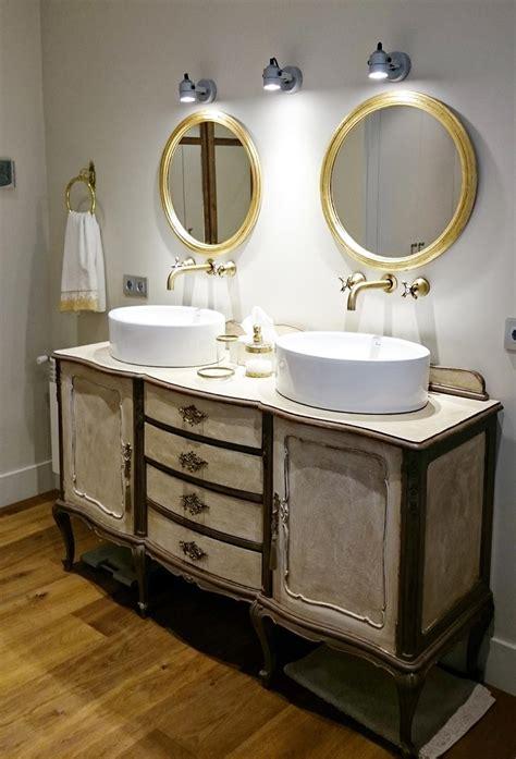 Mueble de baño vintage estilo Luis XV | Bohemian and chic