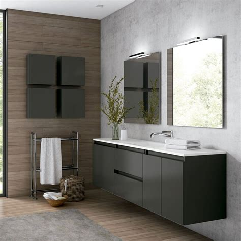 Mueble de baño Viso Bath Box suspendido 200 cm ...