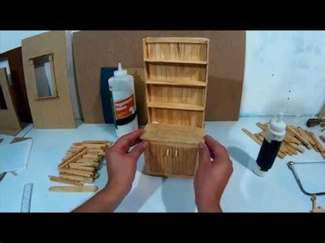 Mueble de cocina para muñecas hecho con palitos   parte 2 ...