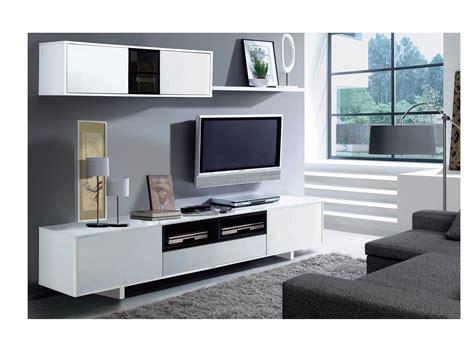 Mueble de comedor para tv blanco y negro, oferta salón ...