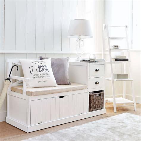 Mueble de entrada blanco Freeport | Maisons du Monde