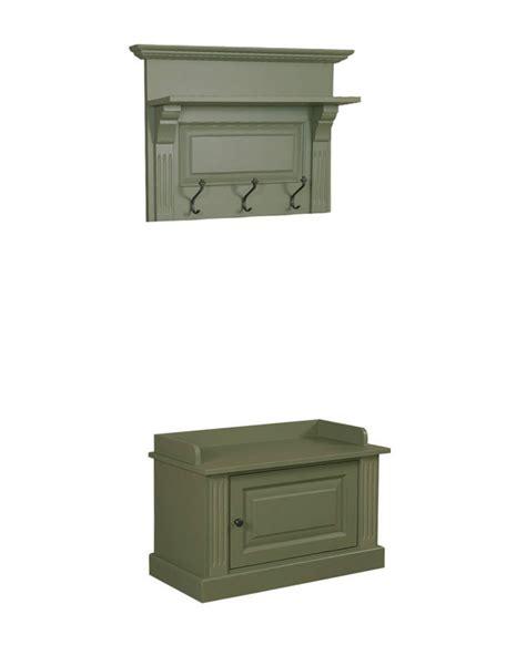 Mueble de entrada de dos piezas con perchero   Hinterland