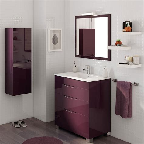 Mueble de lavabo ASIMETRICO Ref. 17620652   Leroy Merlin