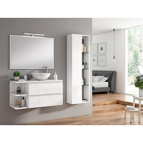 Mueble de lavabo Dante  45 x 80 x 52 cm, Blanco  | 3697 ...