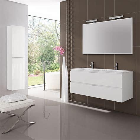 Mueble de lavabo Módena  45 x 120 x 50 cm, Blanco  | 3697 ...