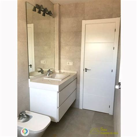 Mueble de lavabo serie Ares fabricado a medida y acabado ...