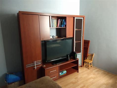 Mueble De Madera Para Tv Y Libros   $ 2,999.00 en Mercado ...