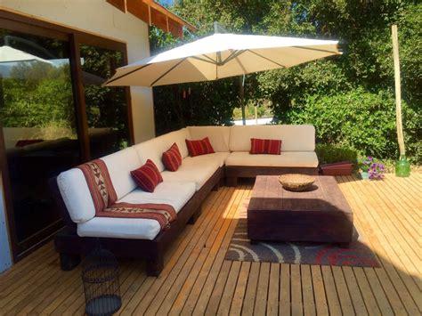 Mueble De Palet Pallets Terraza L   $ 620.000 en Mercado Libre