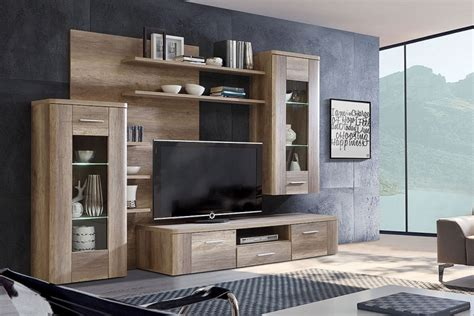 Mueble de salón   comedor moderno BUFFALO Roble al MEJOR ...