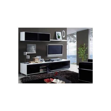 Mueble De Salon Negro Brillo con Ofertas en Carrefour ...