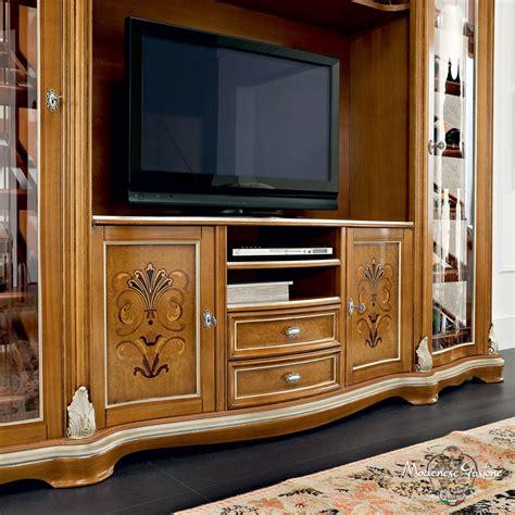 Mueble de televisión de estilo / de madera maciza   BELLA ...
