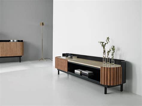 Mueble de televisión Stick 182 de diseño listones de ...