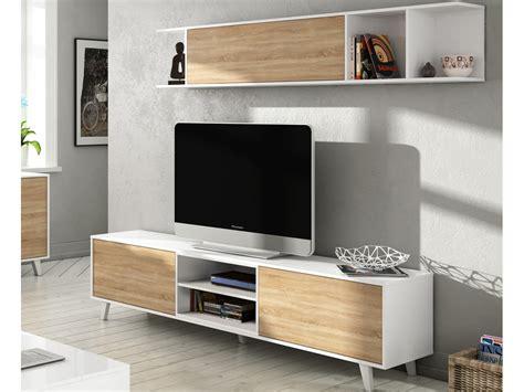 Mueble de Tv con vitrina, mesa para vídeo en el salón por ...
