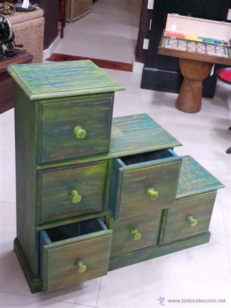 Mueble escalera con cajones pintado   aceptamos   Vendido ...