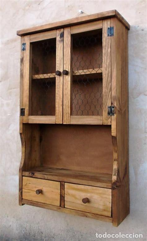 mueble especiero o alacena de madera vintage ,,   Comprar ...