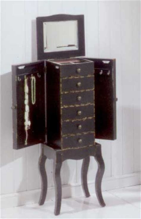 Mueble joyero madera rustico   Blog de artesania y decoracion