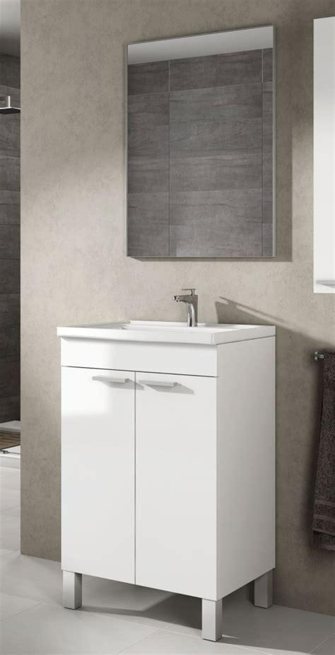 Mueble Lavabo De Baño aseo Pequeño Con Espejo Incluido Y ...