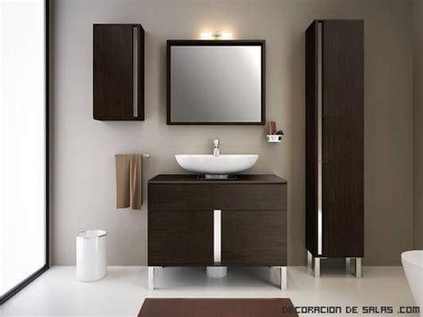 Mueble lavabo moderno | Decoración baño pequeño ...