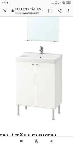 Mueble Lavabo Suspendido Ikea