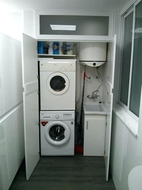 mueble lavadora secadora mueble lavadora secadora interior ...