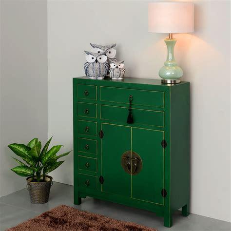 Mueble Oriental Verde 8 Cajones   Te Imaginas...