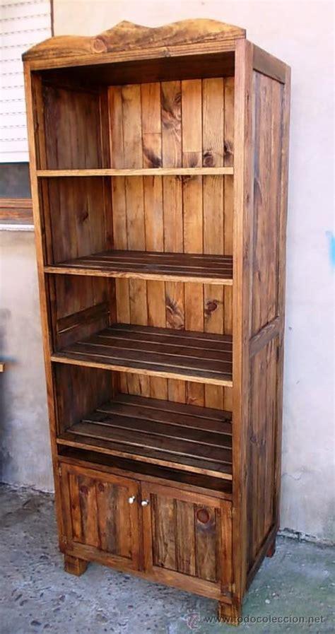 mueble panadero de madera rustico, estanteria c   Comprar ...