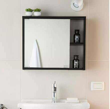 Mueble Para Baño Gabinete Con Espejo Resistente A La ...