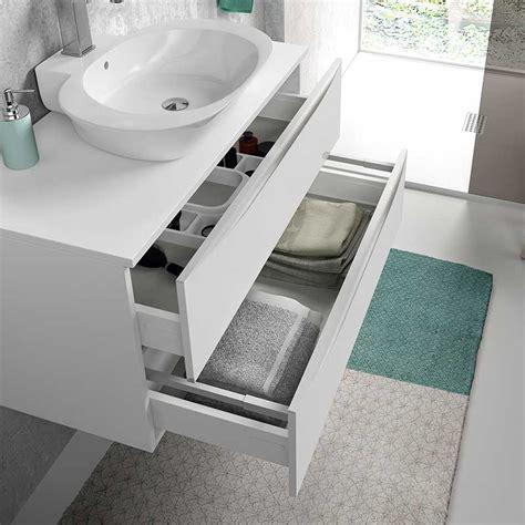 Mueble para Baño Landes con Lavabo Sobre Encimera Amberes
