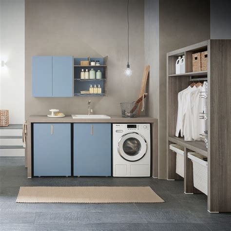 Mueble para lavadero   COMPOSIZIONE 1   AZZURRA ARREDOBAGNO