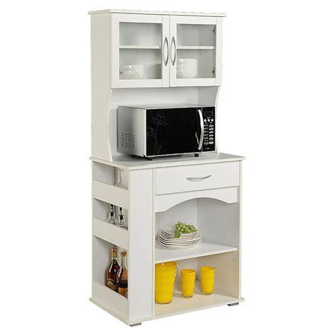 Mueble para microondas 76x170x46 cm Blanco   Muebles de ...