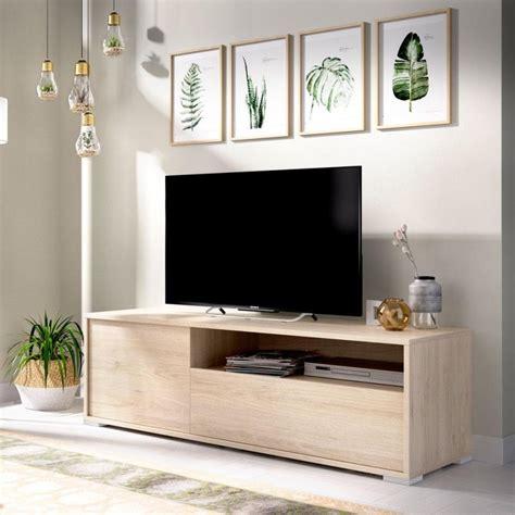 Mueble para televisión roble Natural Oslo  Muebles para tv ...