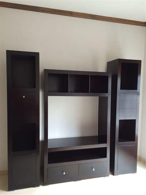 Mueble Para Televisión Y Librero   $ 4,474.00 en Mercado Libre