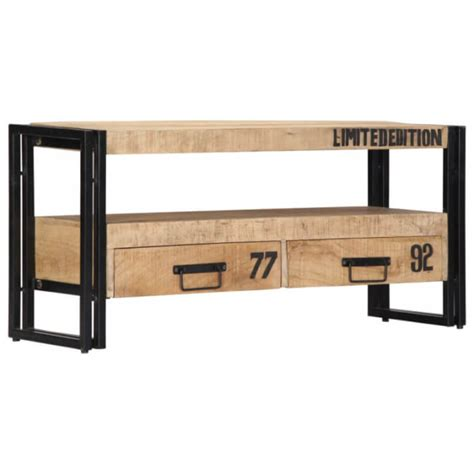 Mueble para TV 100x30x45cmmaderamaciza demango Vida XL ...