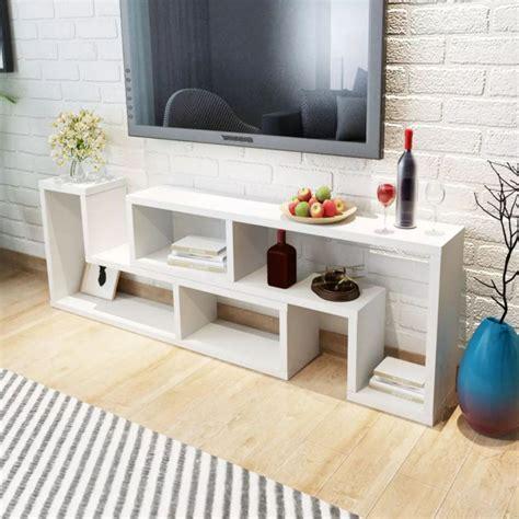 Mueble para TV blanca en forma de L Vida XL 243066 ...