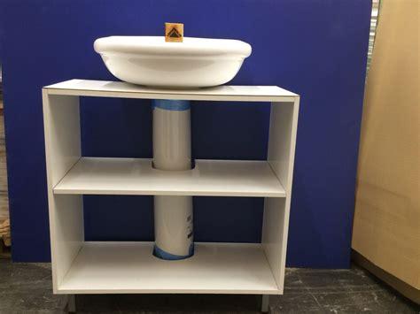 Mueble para un lavabo con pie   Leroy Merlin