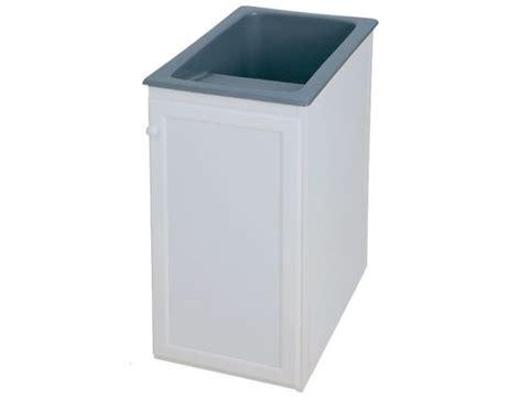 Mueble pila lavadero aluminio Syan Apolo color Blanco