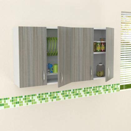 Mueble Superior Para Cocina Esmeralda 4 Puertas 60 cm Alto ...