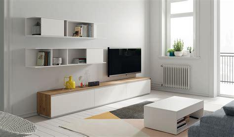 Mueble tv blanco lacado Hiromi en Portobellostreet.es