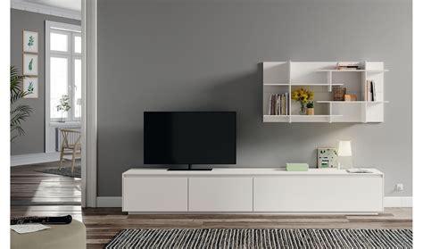 Mueble tv blanco lacado Lesoi en Portobellostreet.es