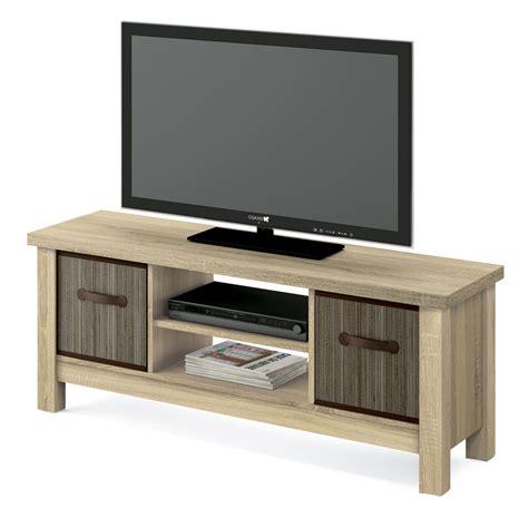 Mueble TV color roble cambrian de 130 cm.