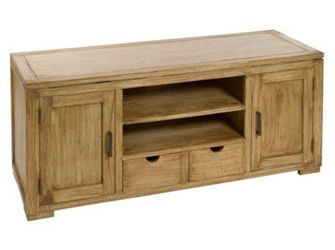 Mueble TV de madera natural envejecida   Mesas de televisión