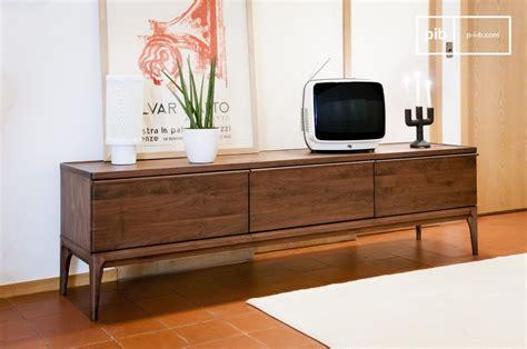 Mueble TV de Nogal Hemët   Gran formato, practicidad y | pib