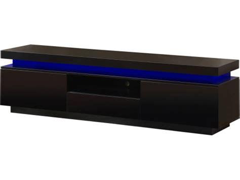 Mueble Tv Led  ruth    170 X 40 X 45.5 Cm   Negro Lacado ...