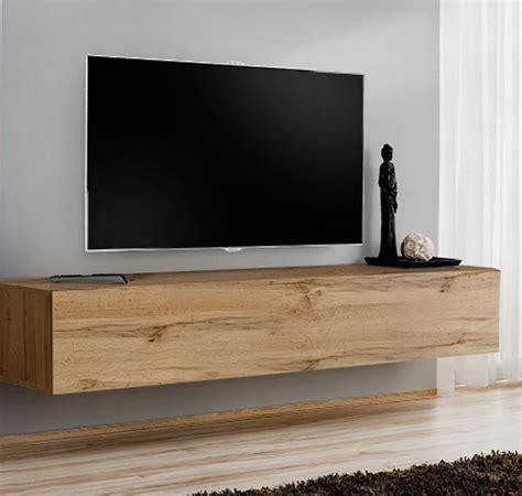 Mueble TV modelo Baza 180x30 en color roble