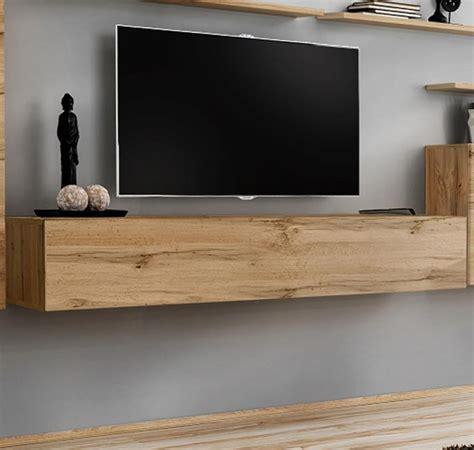 Mueble TV modelo Berit 180x30 en color roble   eBay