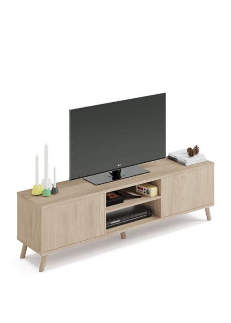 Mueble Tv Nordico Con Apertura Push   Las mejores ofertas ...