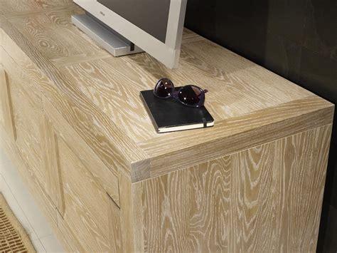 Mueble TV Pedro fabricado en madera de roble macizo estilo ...