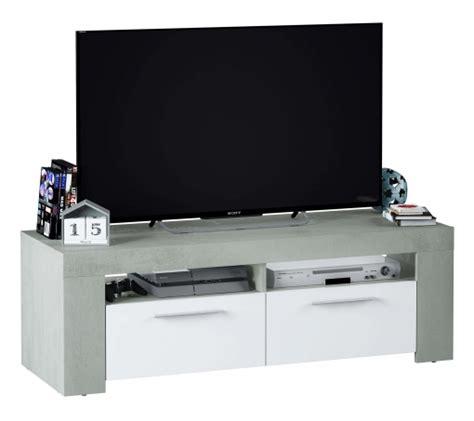 Mueble Tv Plutón Mesa Diseño Moderno Color Blanco Y ...