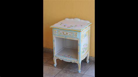 Mueble Vintage   Como Renovar Muebles   Stenciles     YouTube