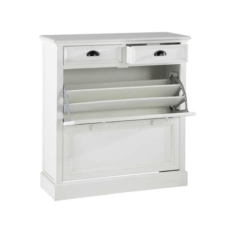 Mueble zapatero blanco An. 90 cm Newport | Maisons du Monde